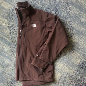 The NorthFace Mens Brown Apex Shell Jacket